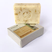 Load image into Gallery viewer, Hand made Bar Soap Calendula, Clay & Oatmeal