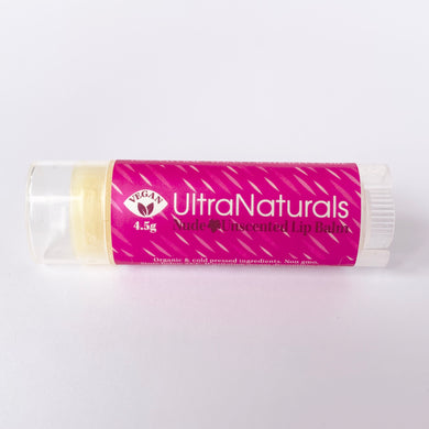 Vegan Lip Balm Nude Unscented