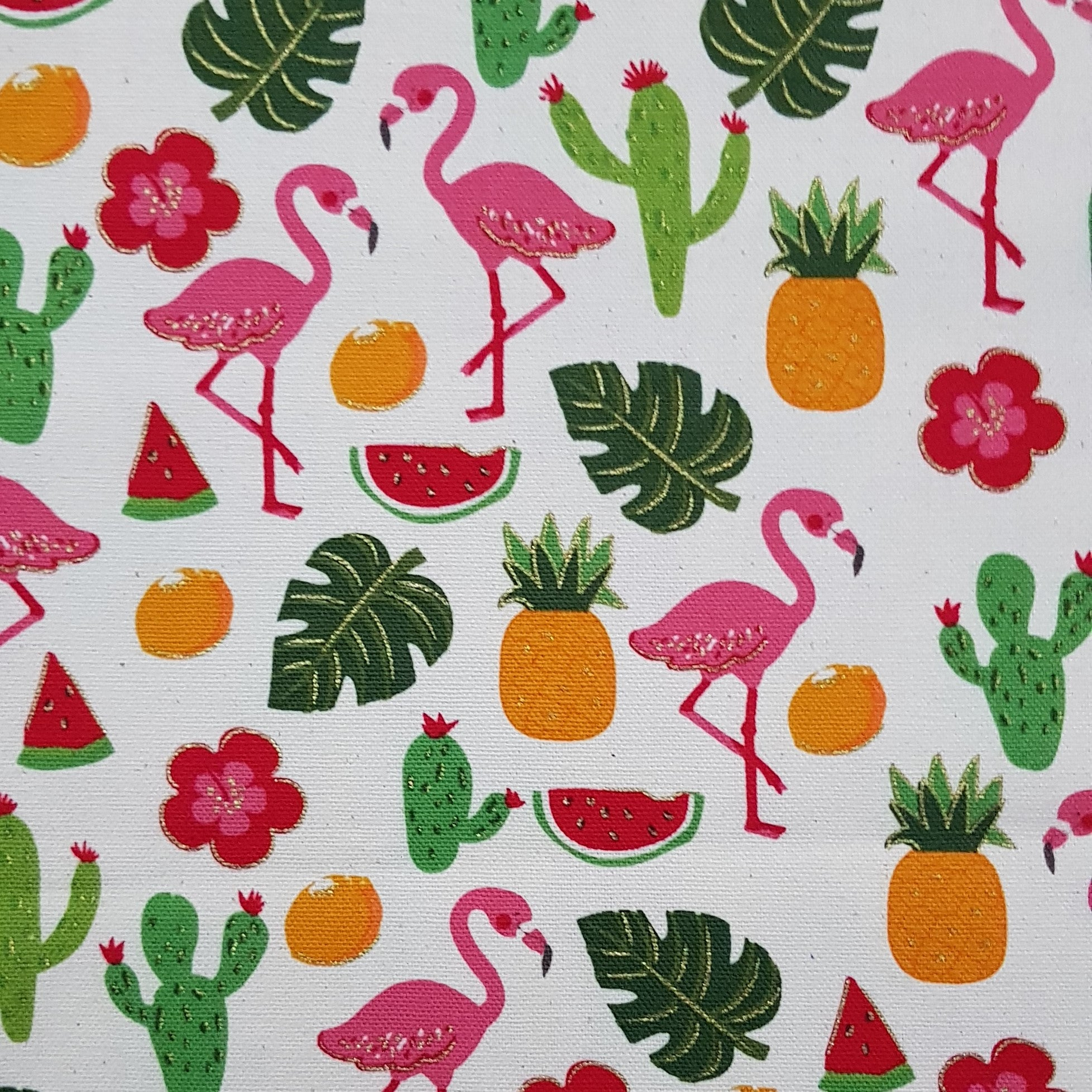 Flamingos & Pineapples