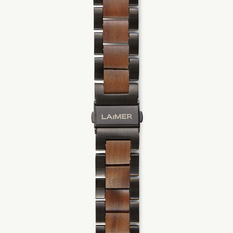 WATCH STRAP WALNUT WOOD BASIC