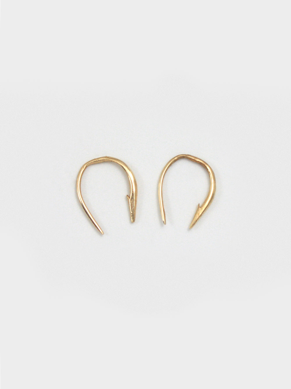 Small Hook Poke Earrings
