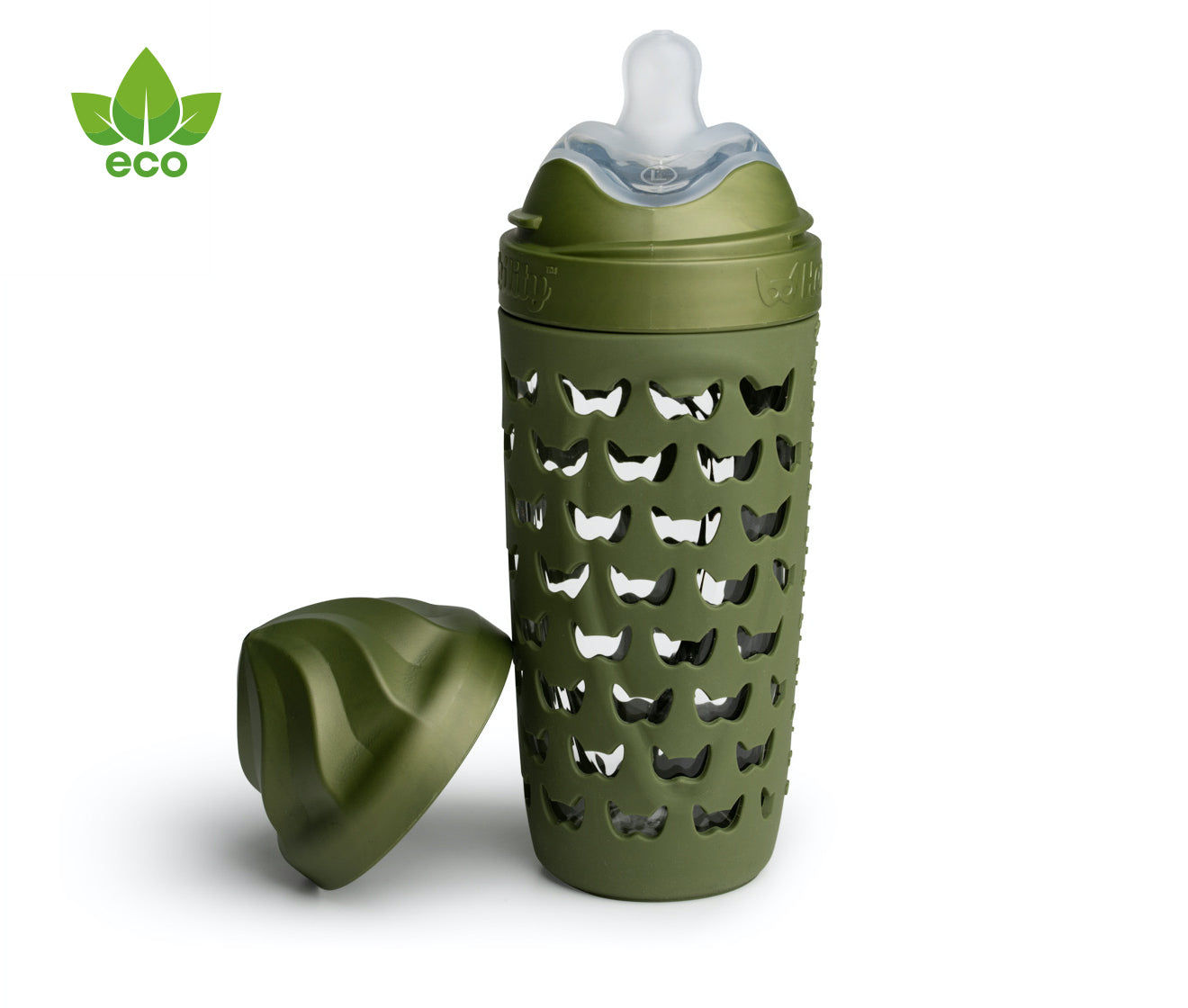 Eco Baby Bottle Forest Green