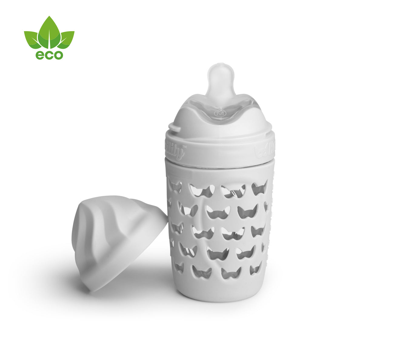 Eco Baby Bottle Mist Gray