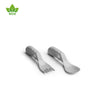 Eco Baby Spoon & Fork Gray