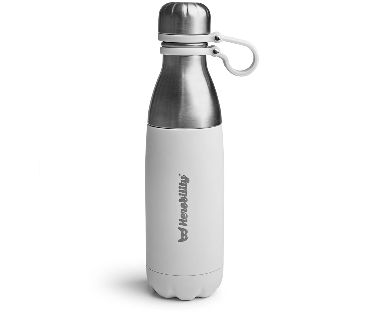 Herobility To Go Flasche, Weiss