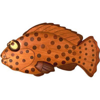 Spotty Fish Intarsia Pattern