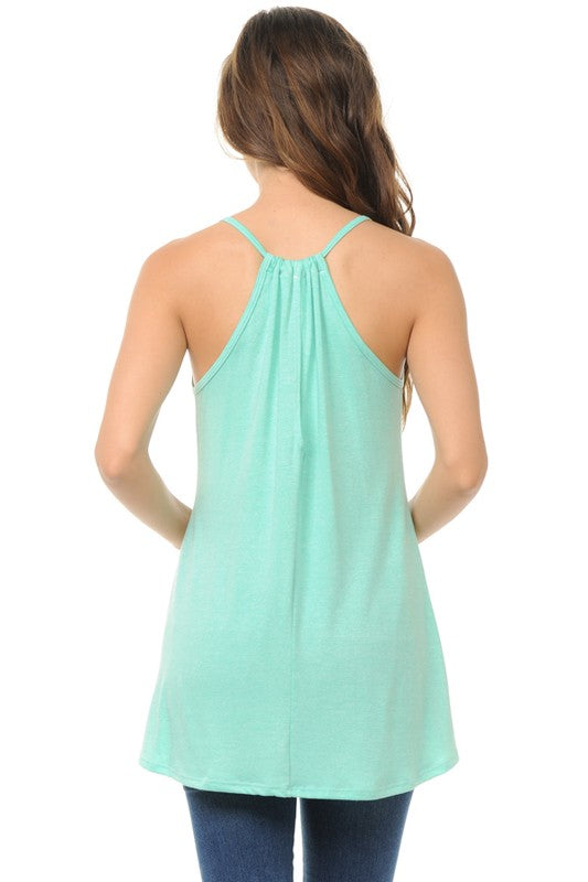 Deal of the Day Solid Halter Style Tank