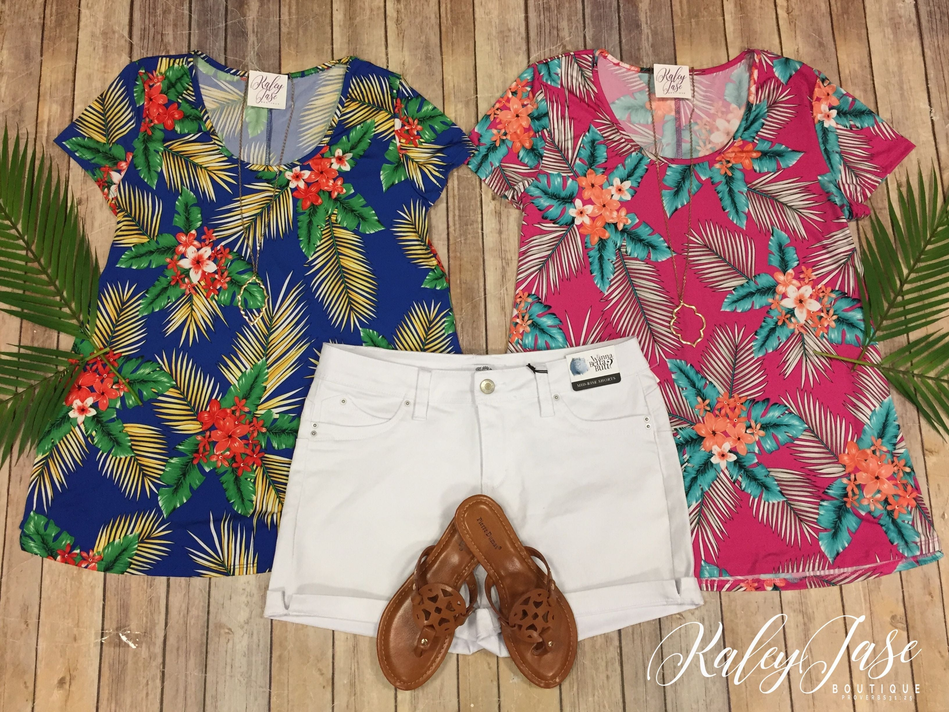 Deal of the Day - Tropical Scoop Top