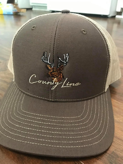 County Line - Colored Deer Hat