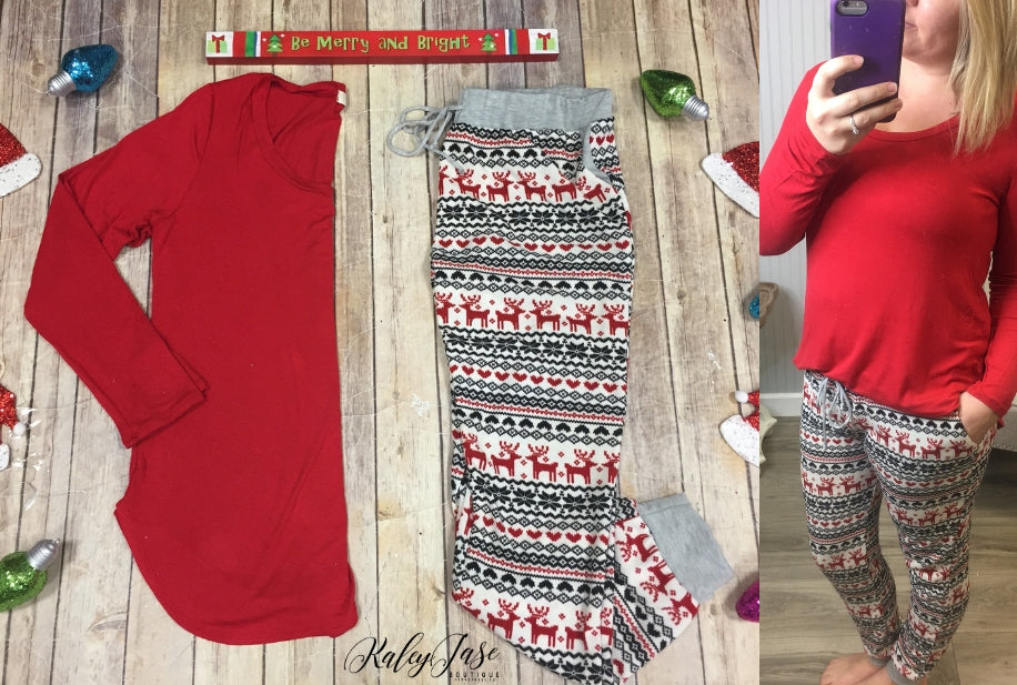 Christmas PJ Jogger Lounge Pants