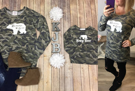 Mommy & Me Camo Bear Tunic *Final Sale*