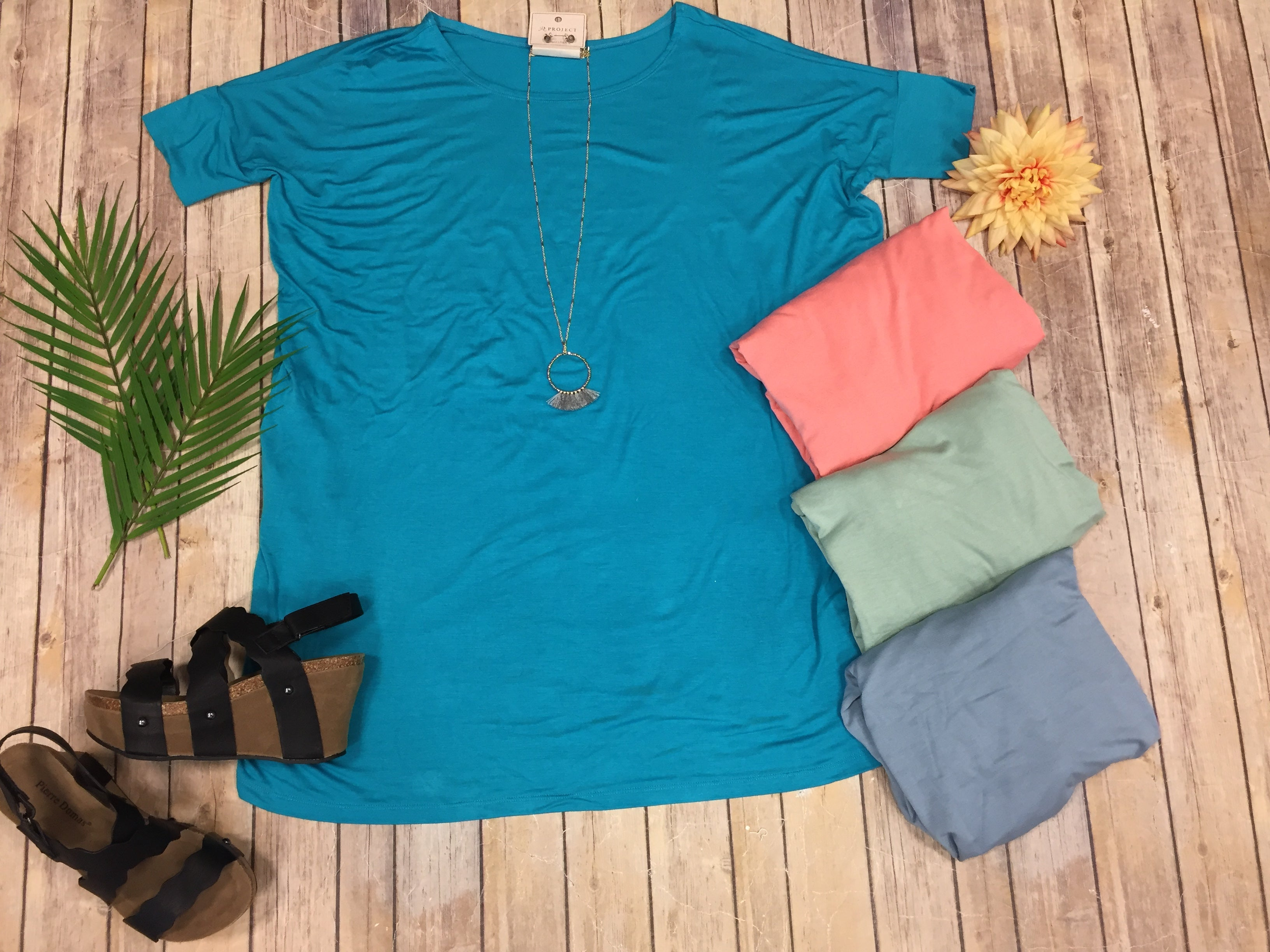 Deal of the Day - Round Neck Basic Tunic