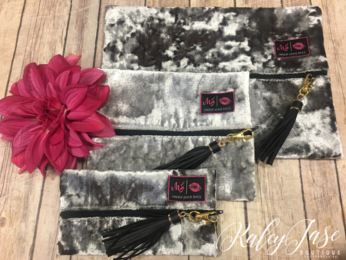 Morning Dove Makeup Junkie Bags