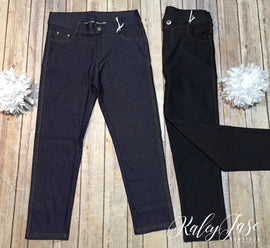 Jean Capri Leggings