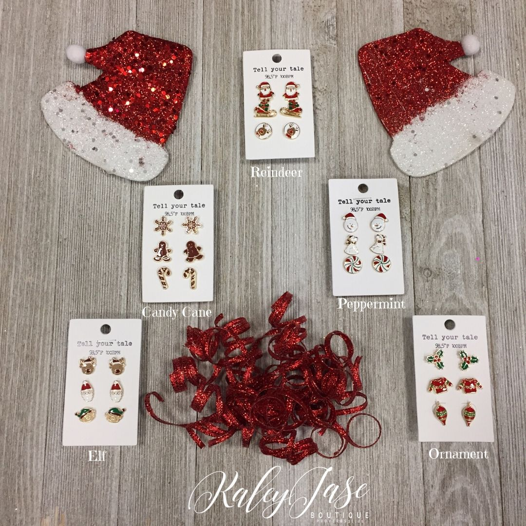 Holiday Earrings -YB8