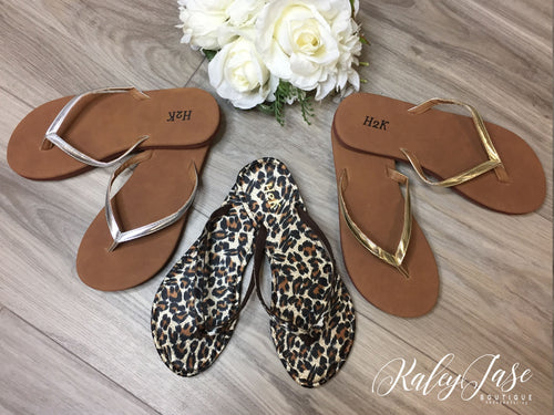 Designer Inspired Simple Flip Flops
