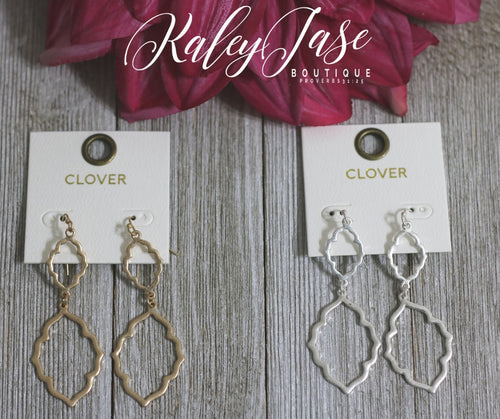 Double Connected Earrings -A7