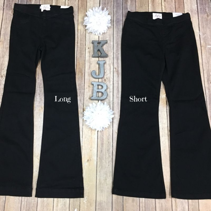 Cello Black Flare Jeans