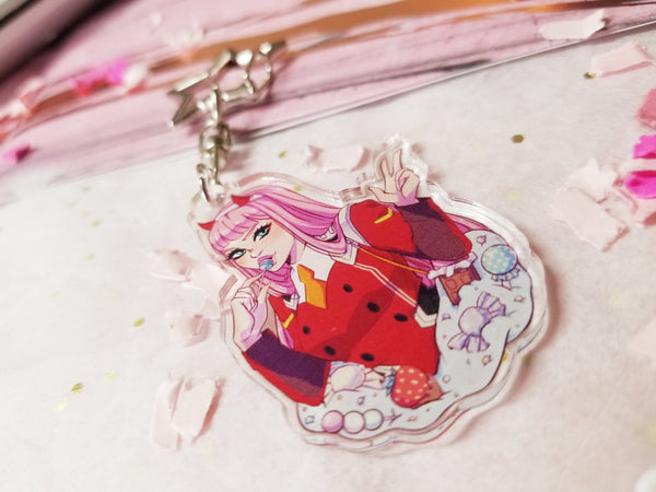 Darling in the Franxx ~ 002 Acrylic Charm