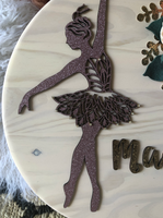 "18""  Ballerina Personalized Sign"