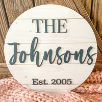 The Johnsons Sign
