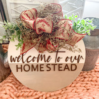 Welcome to Our Homestead