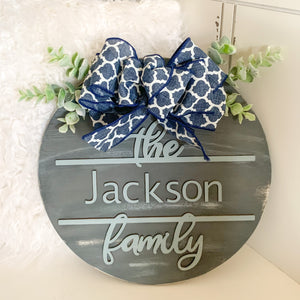 The Jackson Family Sign
