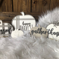 Pumpkin Grouping DIY Sign for Crafting