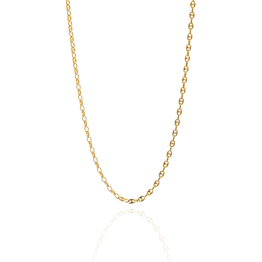 Puff Link Chain - Gold Chain for Men