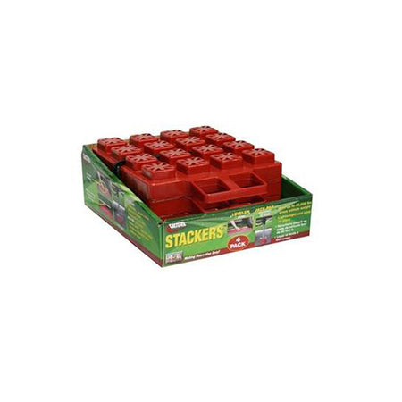 coleman fleetwood pop up camper stackers blocks 4 pack