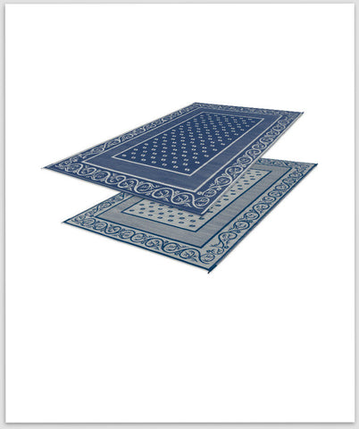 Blue Reversible Mat 9X6