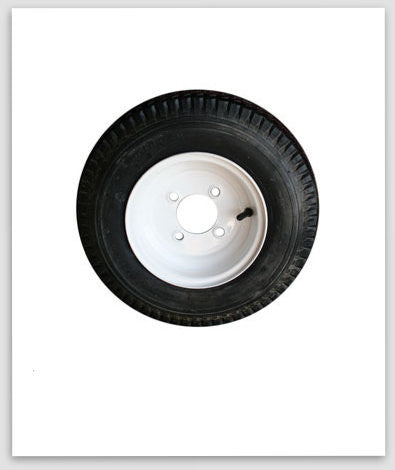 "Tire and Wheel 10"" 4 Lug"