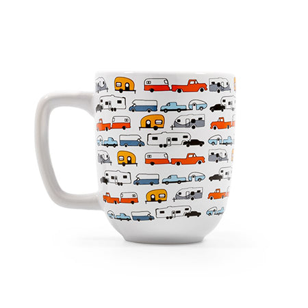 Life Is Better At The Campsite Camper Mug