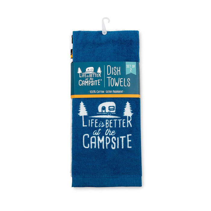 Life Is Better At The Campsite Dish Towel Set