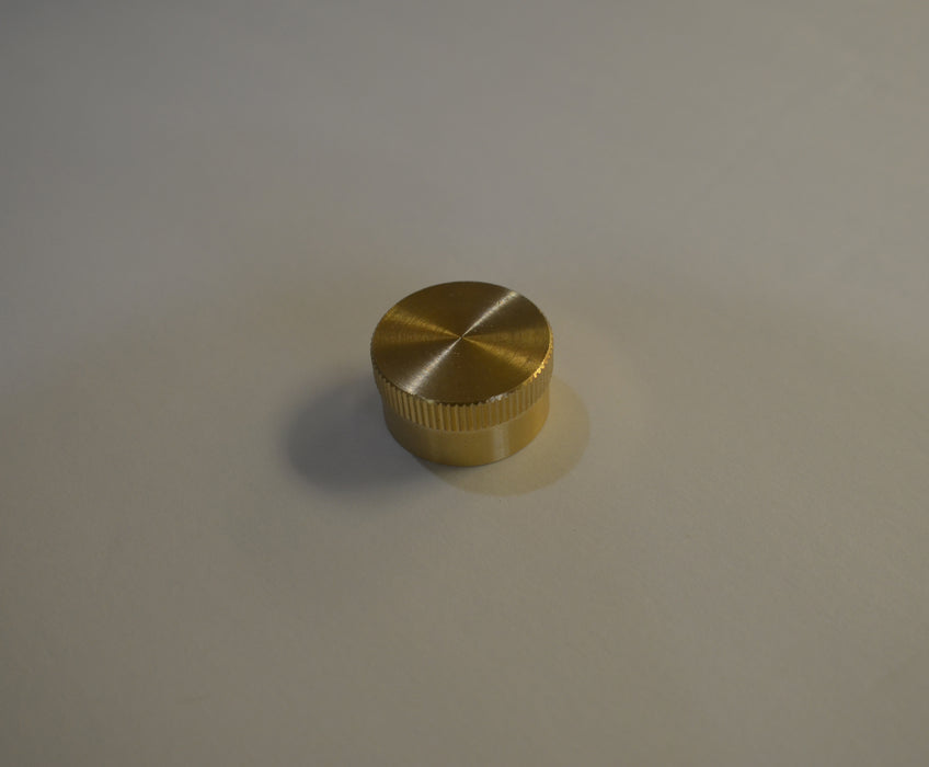 Brass Cap For High Pressure Connections