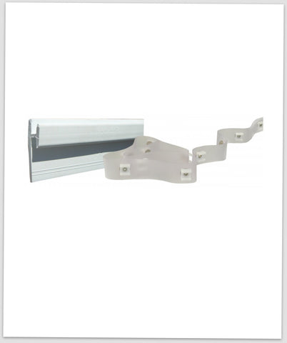 Curtain Track Wall Mount With Tape Type D