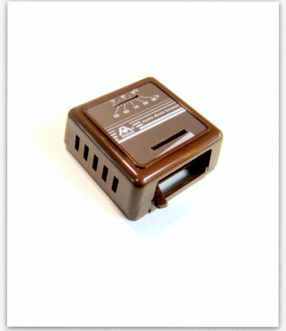 Thermostat Brown
