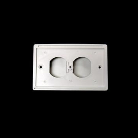 White Exterior Outlet