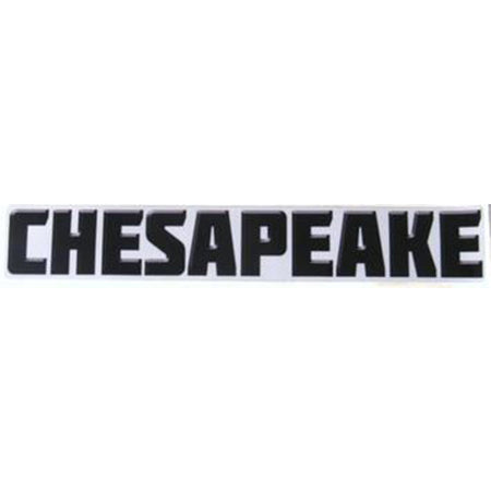 Silver Chesapeake Decal