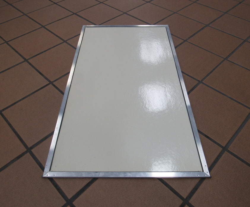 Lower Screen Door Panel Used
