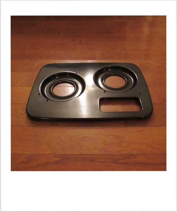 Stove Top Black 2 Burner