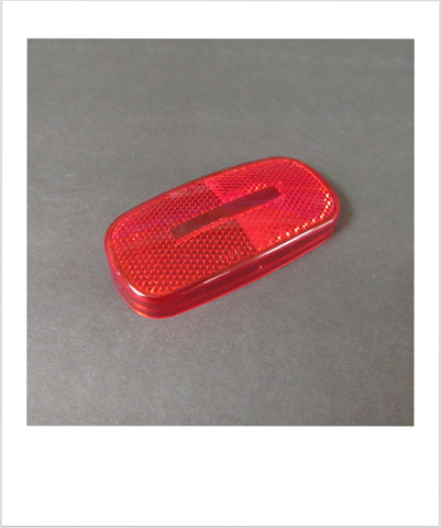 Marker Lamp Lens Red Used