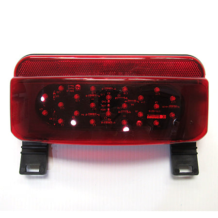 LED Tail Lamp With License Bracket