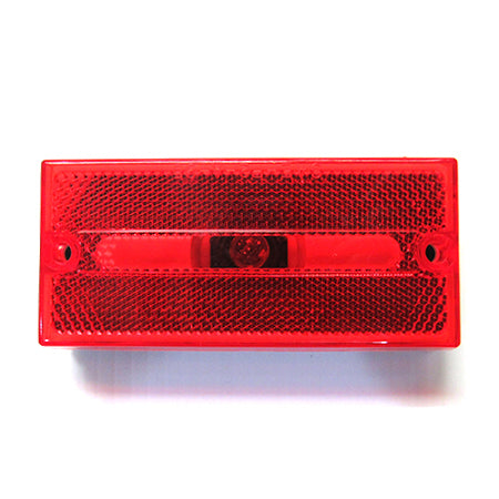 Red Squared Marker Lamp