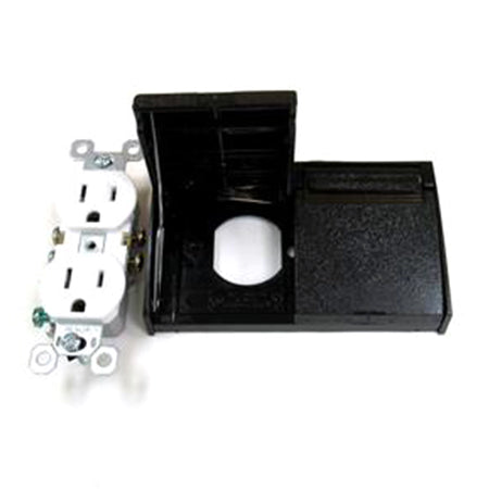 Exterior Outlet Black