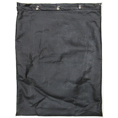 Black Outside Stove Storage Pouch Used