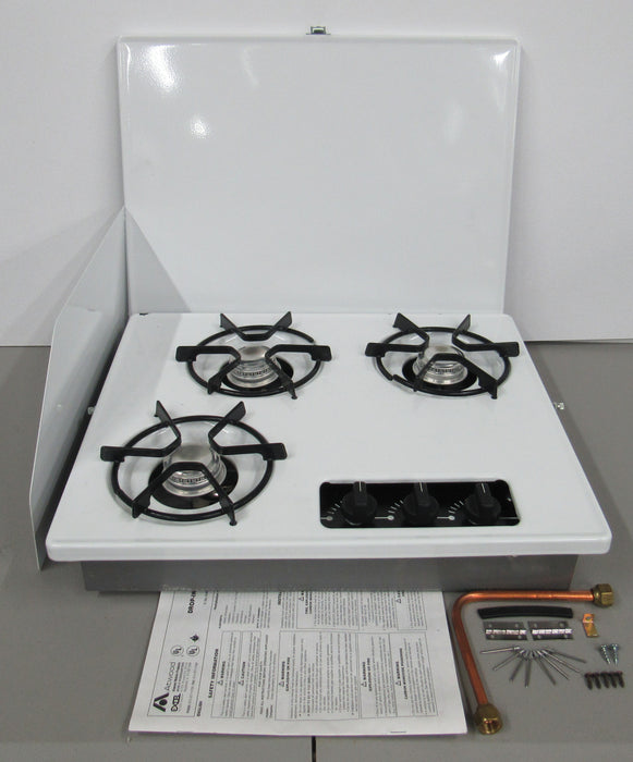 Indoor 3 Burner Stove Kit
