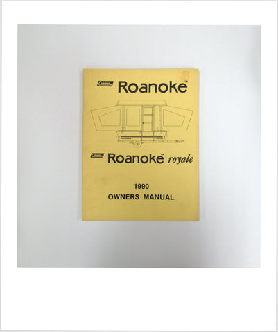 Owners Manual 1990 Roanoke