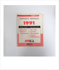 Owners Manual 1991 Pioneer and Americana