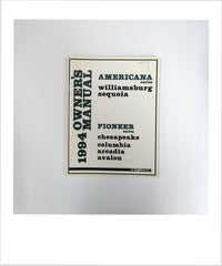 Owners Manual 1994 Americana and Pioneer